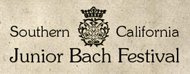Southern California Junior Bach Festival image